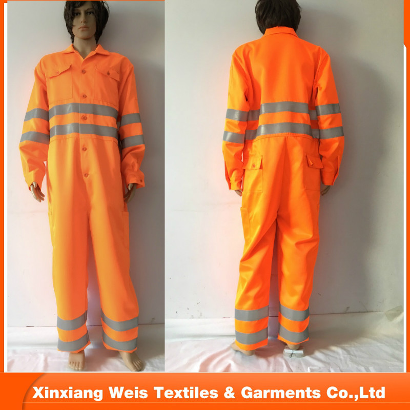 Hi Vis coverall safety workwear
